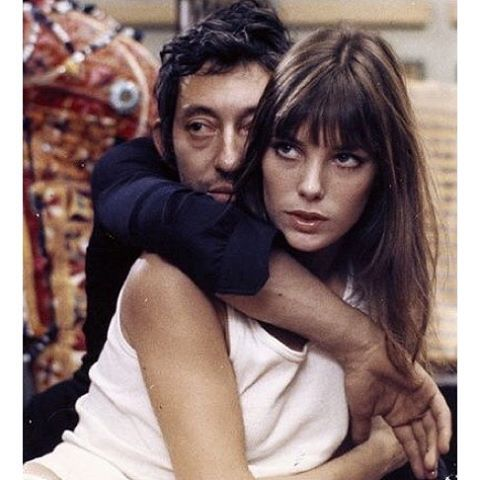 Instagram media littledoeislove - Jane & Serge. #70sbabes #Littledoeislove