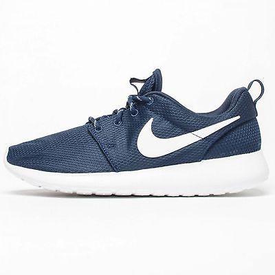 size 40 2ce53 7cc3f ... rosa blumen schuhe damen sale ac79d ecb7e  coupon for nike roshe one  womens 511882 414 navy blue white running training shoes size 7