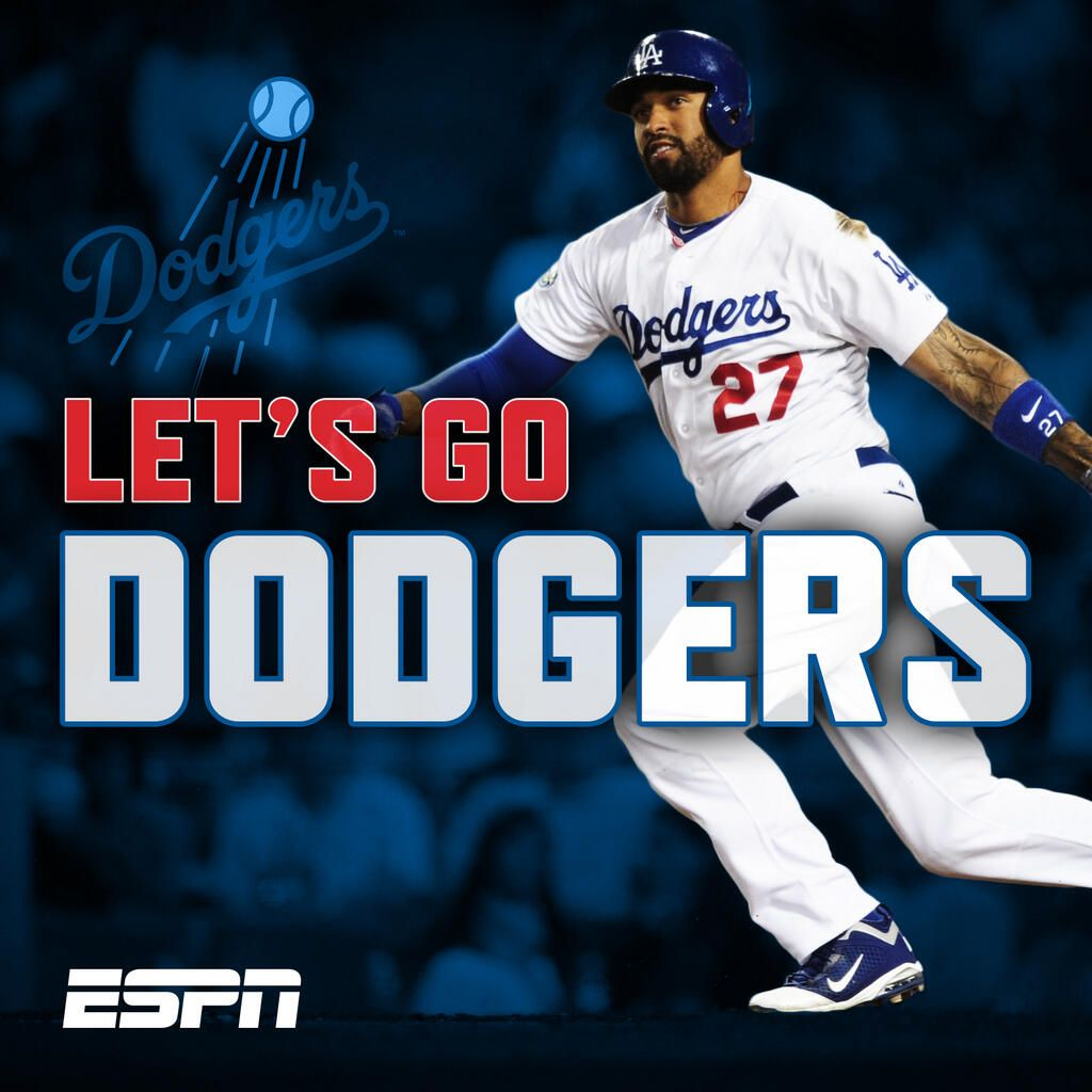 ESPN on Twitter Dodgers, Dodgers girl, Dodgers nation