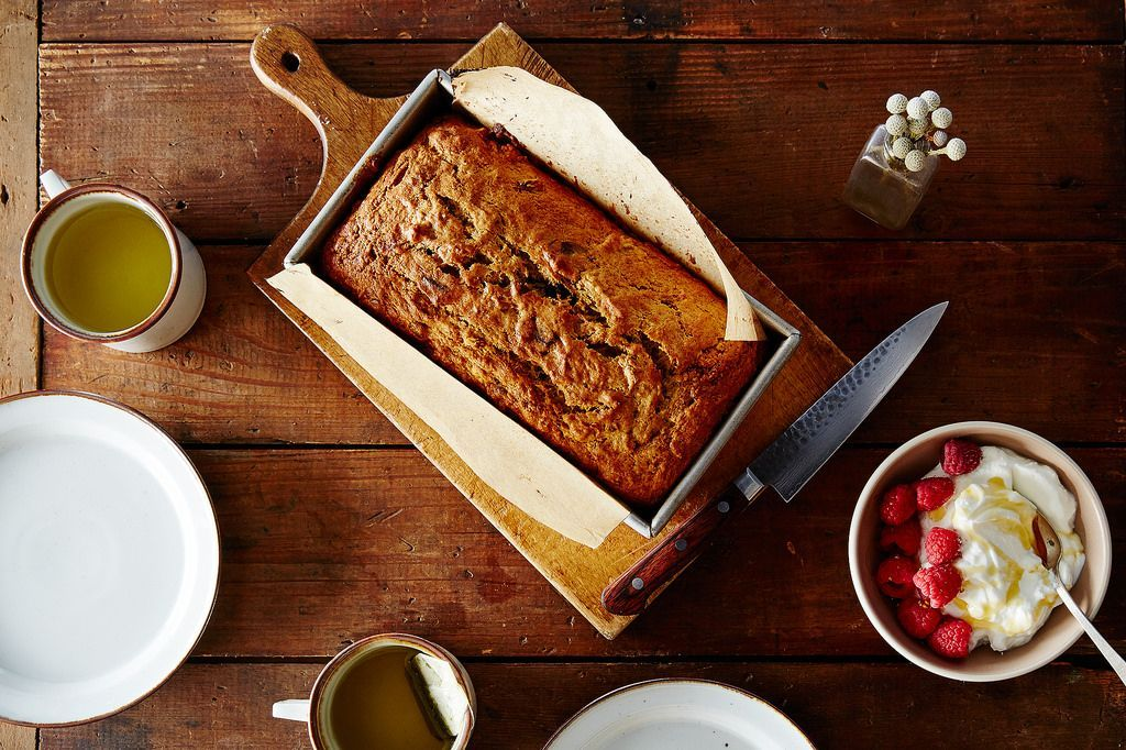 Make banana bread just like Mom used to—slightly underbaked and full of add-ins from the pantry—without a recipe.