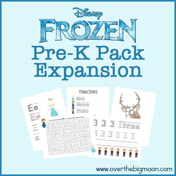 frozen pre k pack expansion homeschool garderie apprentissage activit s d 39 apprentissage. Black Bedroom Furniture Sets. Home Design Ideas