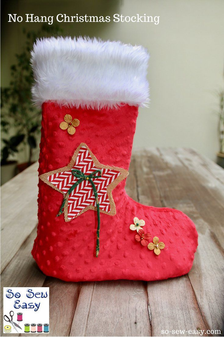 No fireplace no problem with no hang christmas stocking free sewing pattern no hang christmas stocking jeuxipadfo Gallery