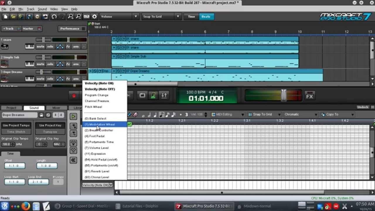 Basic Mixing & Mastering in Mixcraft (tutorial) Basic