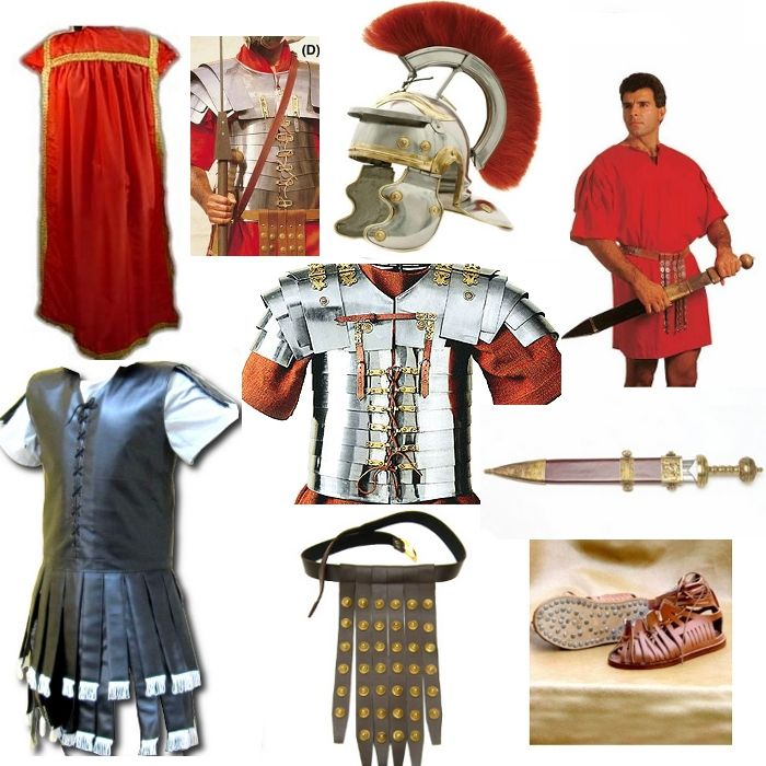 Ancient Roman Soldier Uniform 110