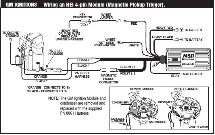 image result for gm hei distributor external coil gm ignitions Damper Wiring Diagram