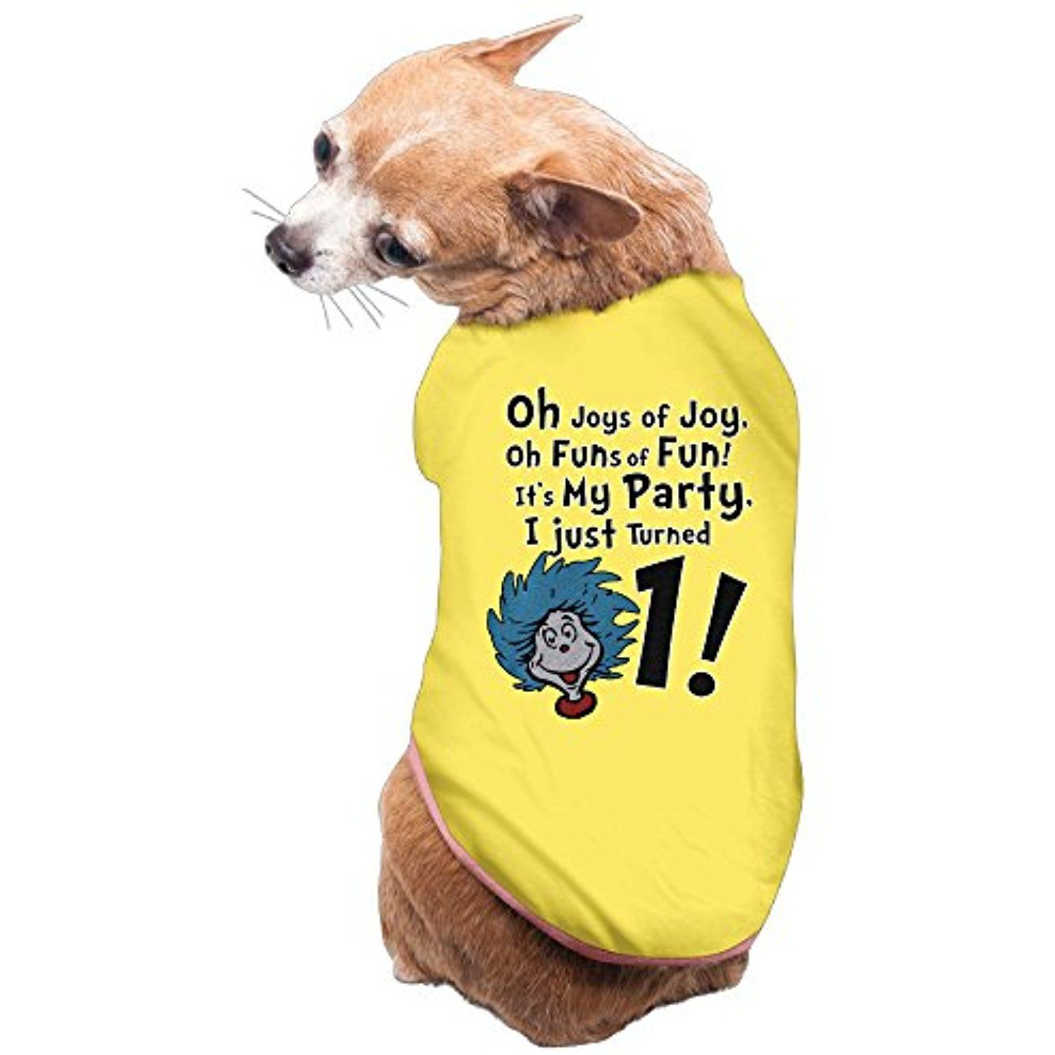 Its My 1st Birthday Party Gift Dogs T Shirt Clothes Dress By Laua You Could Get Additional Details At The Image Link This Is An Affiliate And I