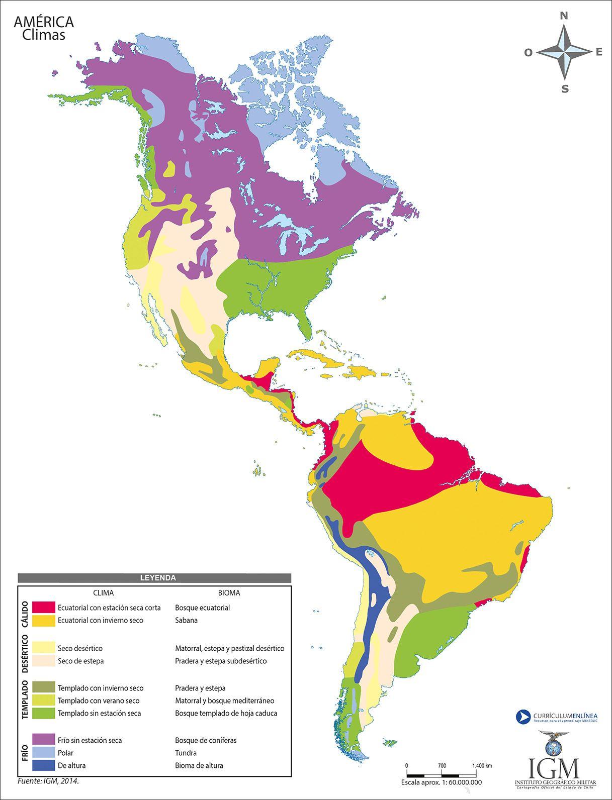 Worldly Decor Resultado De Imagen Para Mapa Con Los Climas De America