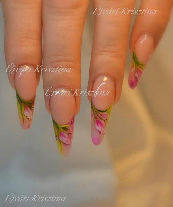 Pin By Nagy Nikolett On Stiletto Russian Mandel And Edge Nails