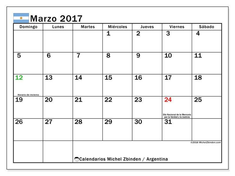 Calendario Marzo 2020 Argentina Para Imprimir.Calendarios Para Imprimir Lamp Calendario Para Imprimir
