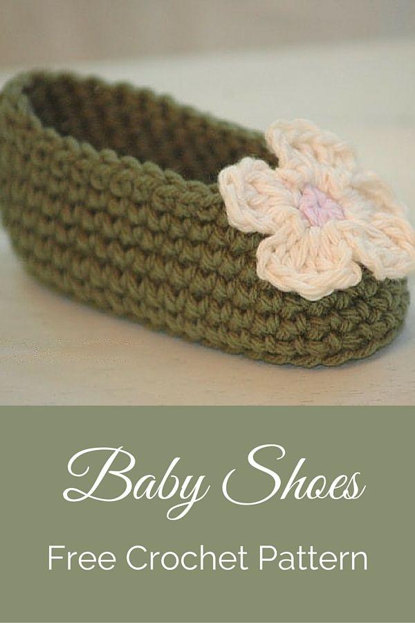 Free Crochet Baby Shoe Pattern Crochet Flowers Free Crochet And