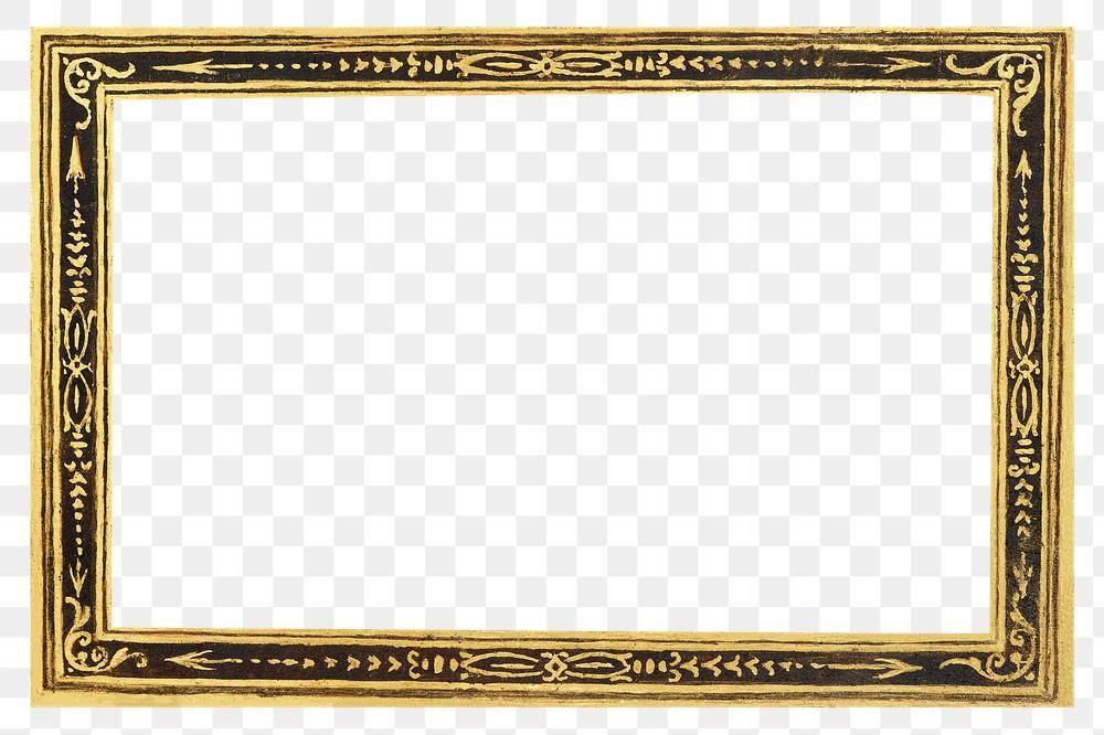 Filigree Gold Frame Border Png Free Image By Rawpixel Com Moss Frame Antique Artwork Antique Frames