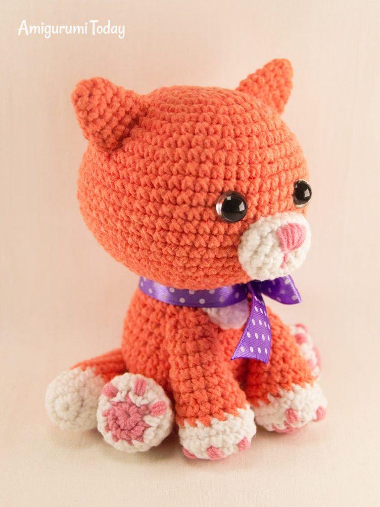Free Cat Crochet Pattern | Crochet cat pattern, Crochet cat toys ... | 1024x768