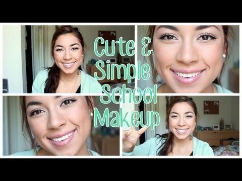 Cute & Simple School Makeup + Ameera Noor Necklace Winner!