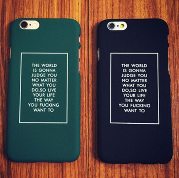 Retro Black Green Letter Mobile Phone Case For Iphone 5 5s SE 6 6s 6plus 6s plus + Nice gift box!