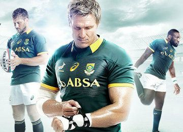 South Africa Springboks 2014 15 Asics Home Kit Football Fashion Org Rugby Sport Rugby Jersey Rugby Kit
