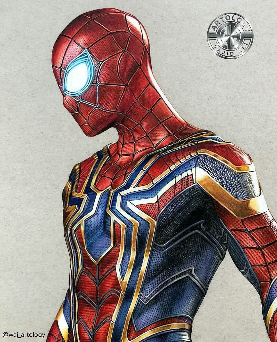 Spidey Hombre Arana Comic Superheroes Dibujos Superheroes Marvel