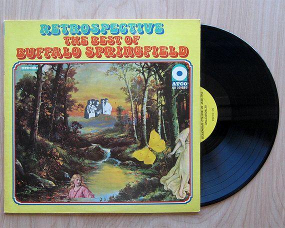 "Buffalo Springfield ""Retrospective, The Best of.."" Vinyl Record LP. Neil Young, Stephen Stills"