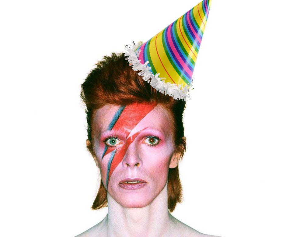 Jan 8th David Bowie Birthday