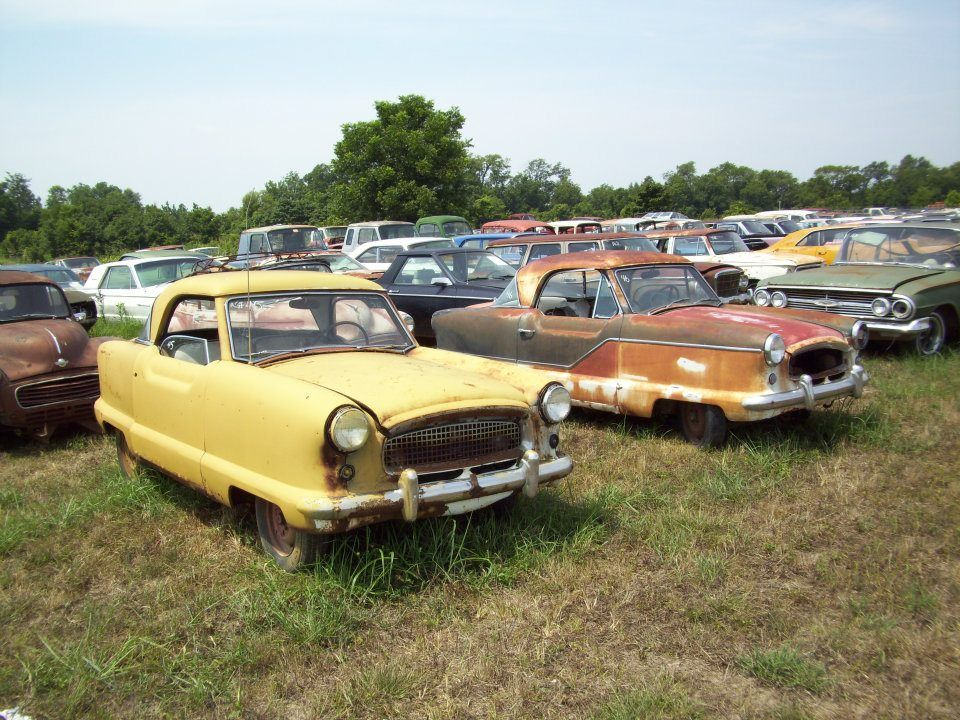 Image result for Nash Metropolitan Parts From Junkyards