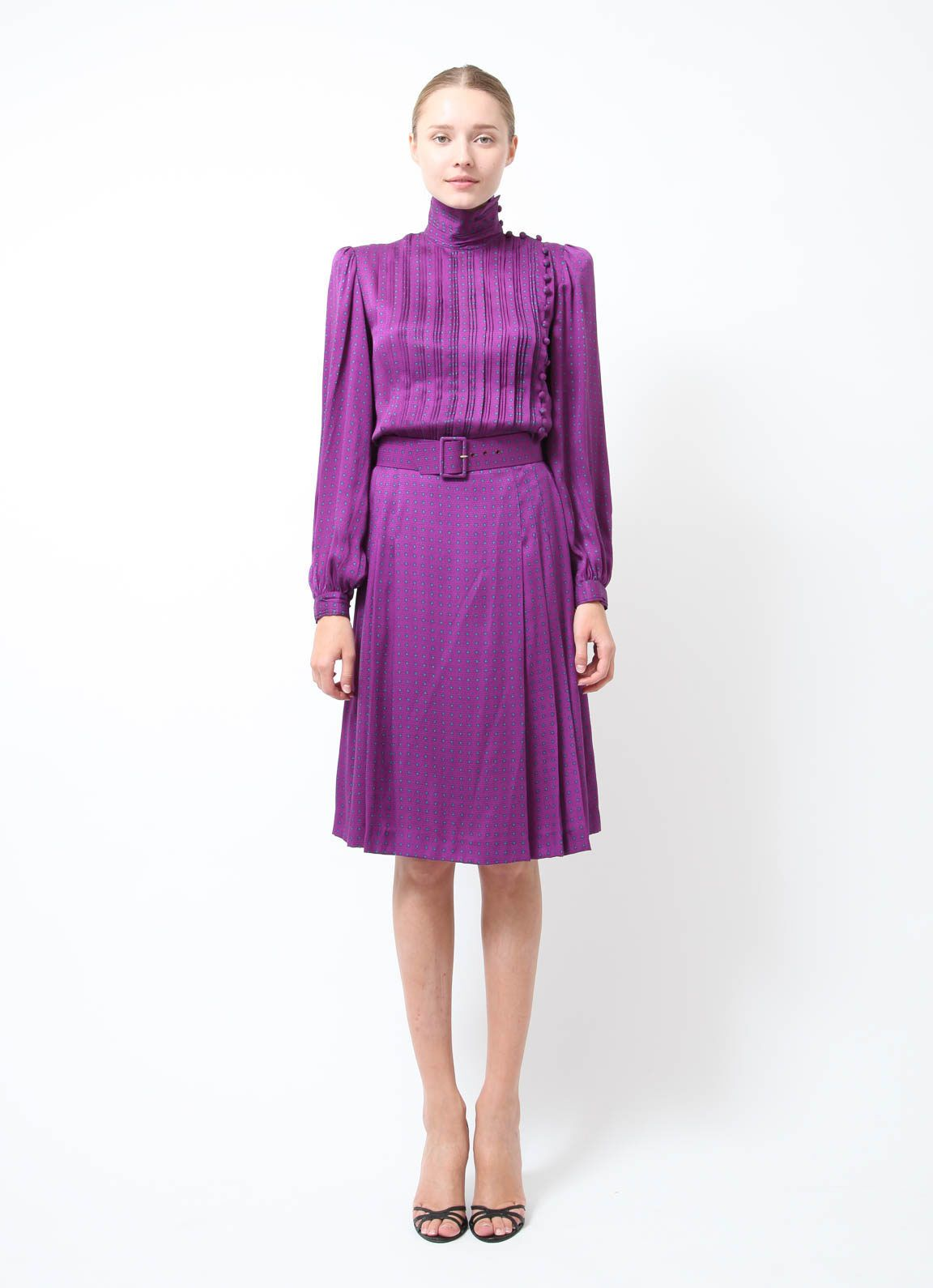 Jean-Louis Scherrer | Vintage Haute Couture Dress | Order this item on RESEE.com |