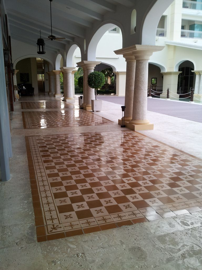 Retail stores add interest and charm on the walkway outside with retail stores add interest and charm on the walkway outside with this traditional cadiz handmade cement ppazfo