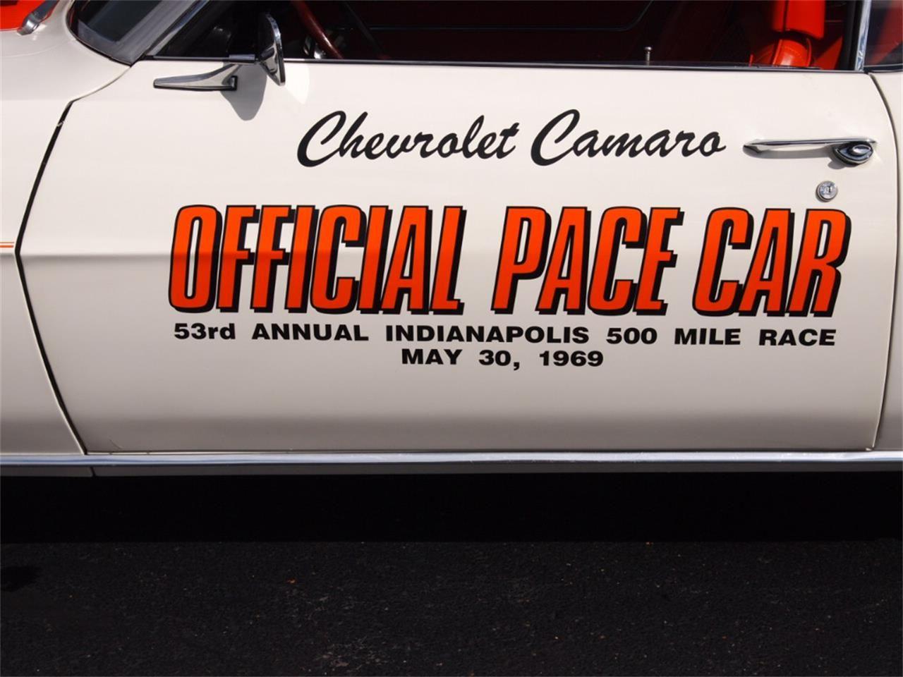 1969 Chevrolet Camaro Indy Pace Car Camaro Chevrolet Camaro Chevrolet