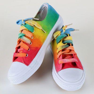 Rainbow Walkers - I want rainbow shoes!