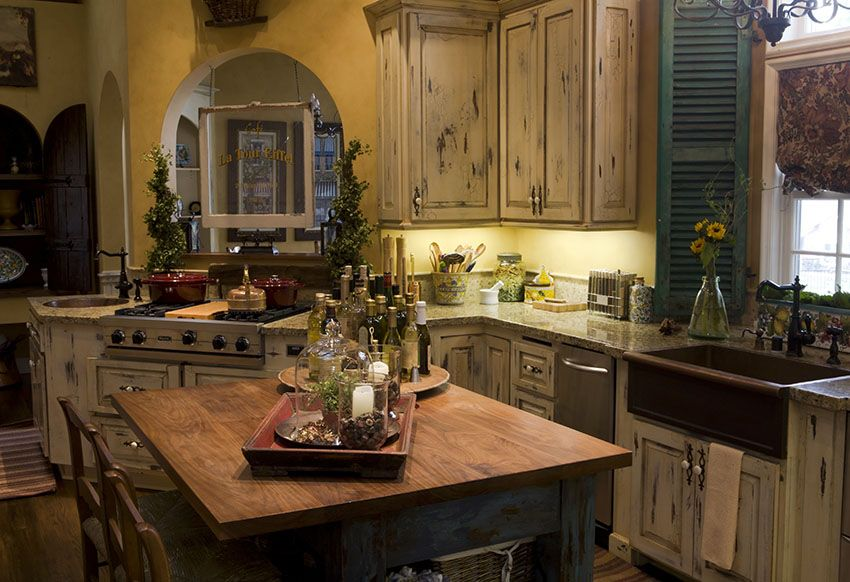 Unique Rustic Country Kitchen Design