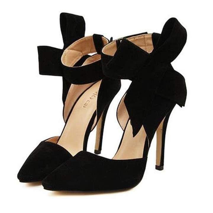 Plus Size Shoes Women Big Bow