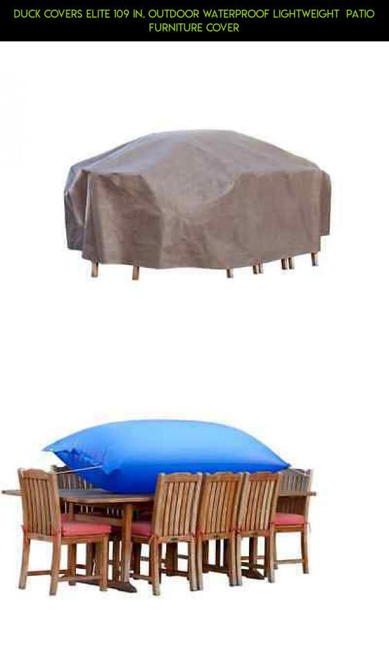 Duck Covers Elite 109 In. Outdoor Waterproof Lightweight Patio Furniture  Cover #products #racing