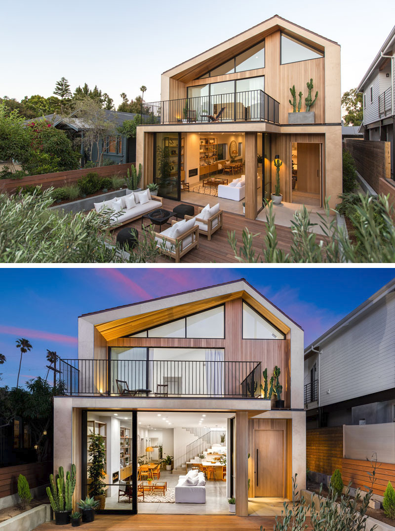Scandinavian Influence Makes This New House In California Bright And Welcoming In 2020 House Front Design Facade House House Exterior
