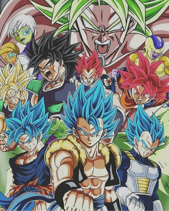 Assistir Dragon Ball Super Broly Filme Completo 720p Anime Dragon Ball Super Dragon Ball Artwork Anime Dragon Ball