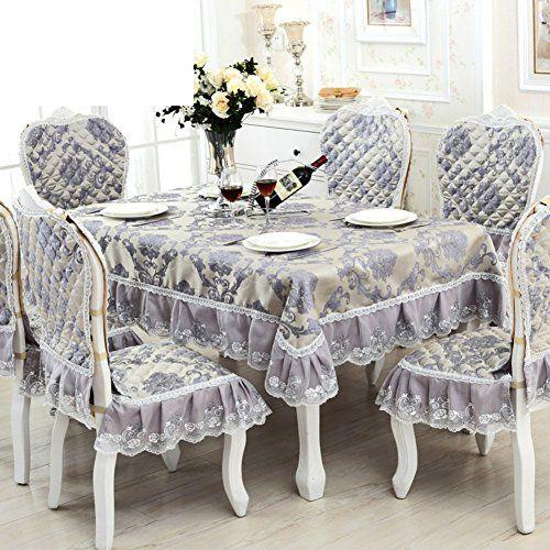 Tre European Style Table Cloth Oblong Table Cloth Square Tablecloth Fabric Table Cloth A 130x180cm 51x71inch Table Style Tablecloth Fabric Home Decor