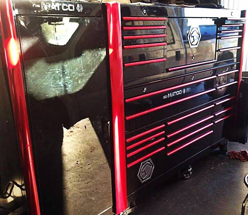 Toolbox Of The Day New Addition Matco Tool Box Tool Organization Tool Box