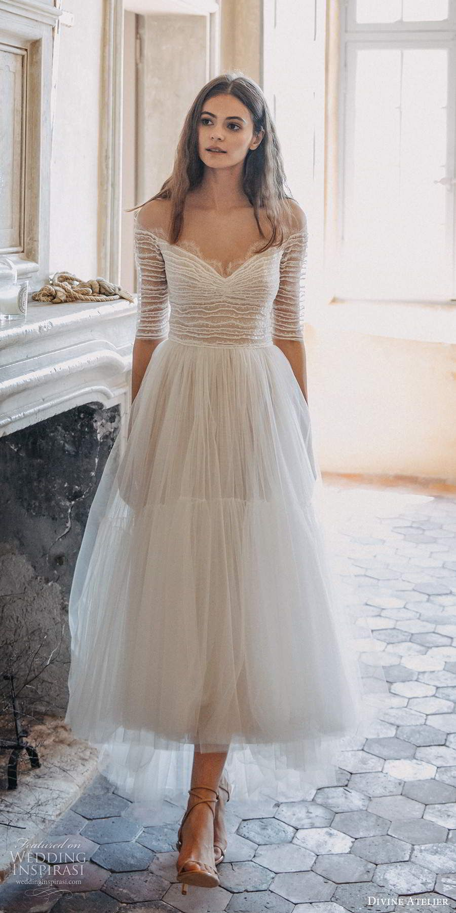 Divine Atelier 2020 Wedding Dresses Wedding Inspirasi Boho Chic Wedding Dress Wedding Dresses High Low Chic Wedding Dresses