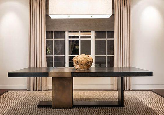 Strap Dining Table via LUMADESIGN Esstisch modern