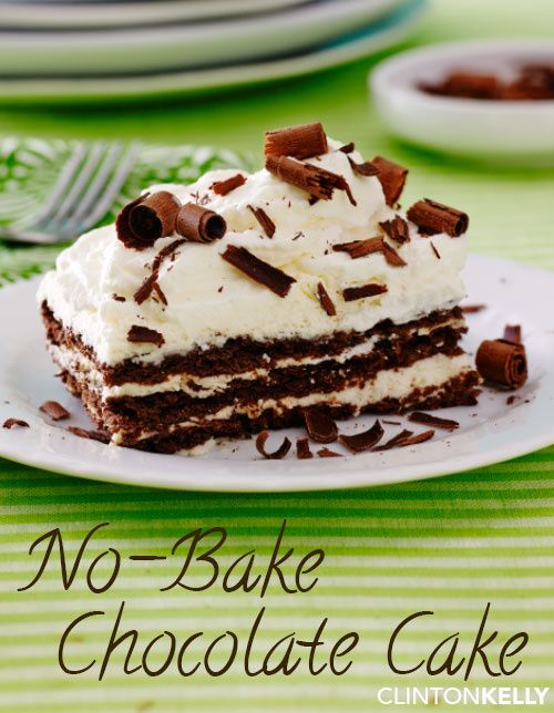 This easy icebox cake is the perfect complement to a summer BBQ