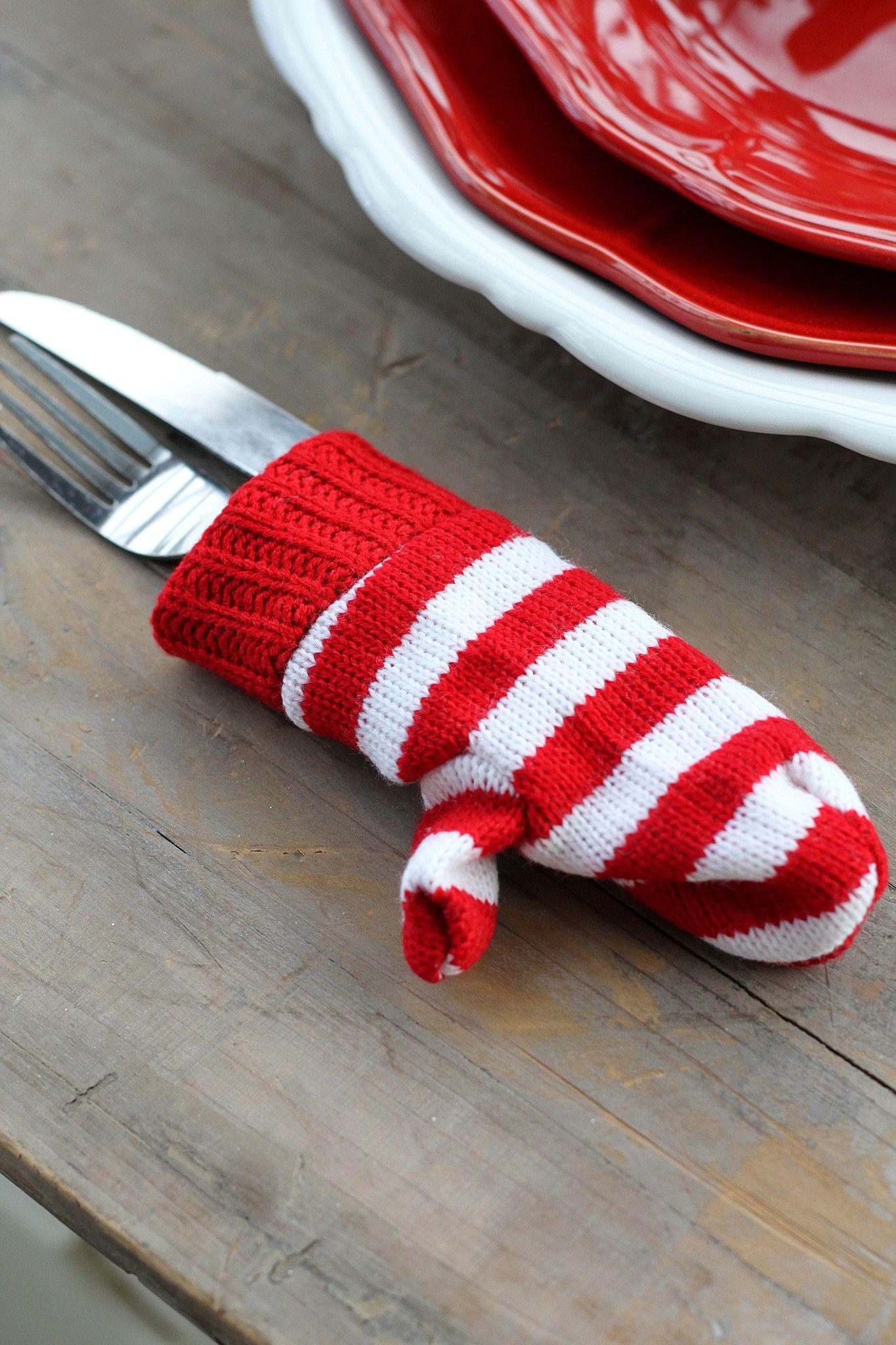 Mini Christmas Stocking & Mini Christmas Mitten as