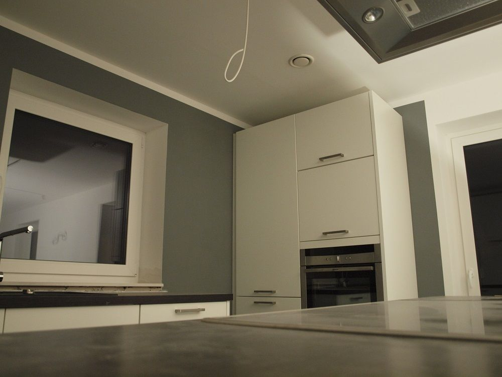 Ein tolles Ergebis - Unsere neue Küche - Mit Frogtape abgeklebt und