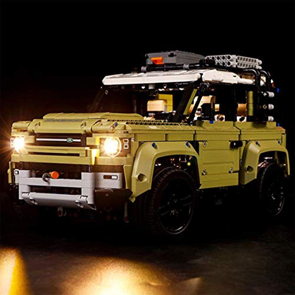 Tetake Licht Beleuchtung Led Beleuchtungsset Fur Lego Land Rover Defender 42110 Nicht Enthalten Lego Modell Spie Land Rover Defender Land Rover Lego Technic