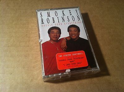 Double Good Everything - Smokey Robinson (Cassette) BRAND NEW soul motown