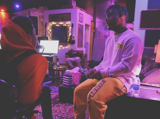 Juice wrld😍😴 Juice wrld in 2019 Juice, Rapper art