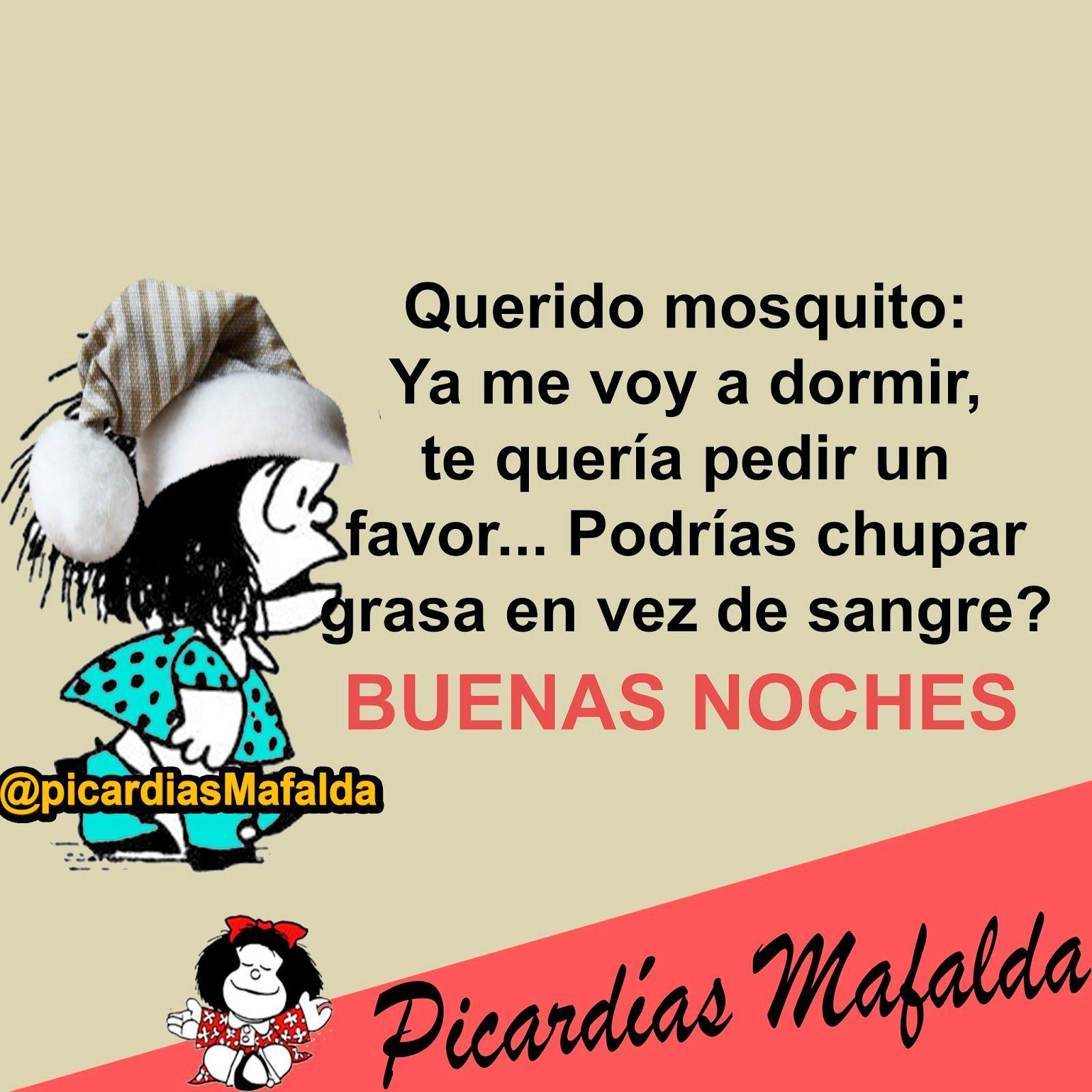 Blog De Imagenes Con Frases Mafalda Buenas Noches