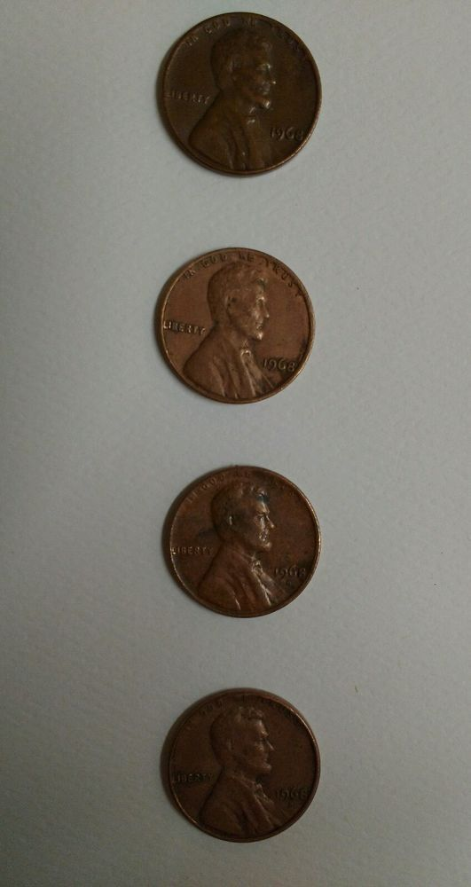 1968 D Lincoln Cent Fs 801 Doubled Die Reverse 1 R V Error Collect Coin Http Www Ebay Com Itm 331790131750 Roken Cugayn Soutkn J Ebay Coins Lincoln