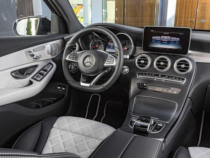 Mercedes Glc Coupe Interior Front Mercedes Benz Glc Coupe