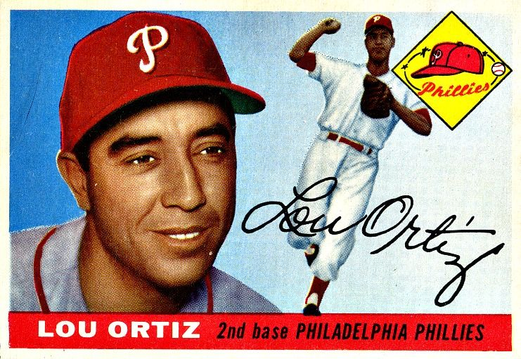 114 Lou Ortiz RC Philadelphia Phillies Baseball