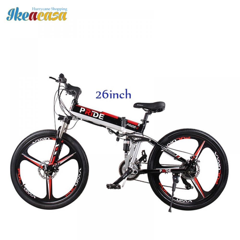 Electric Bike 26inch Aluminum Folding 500w Powerful 48v12 5a