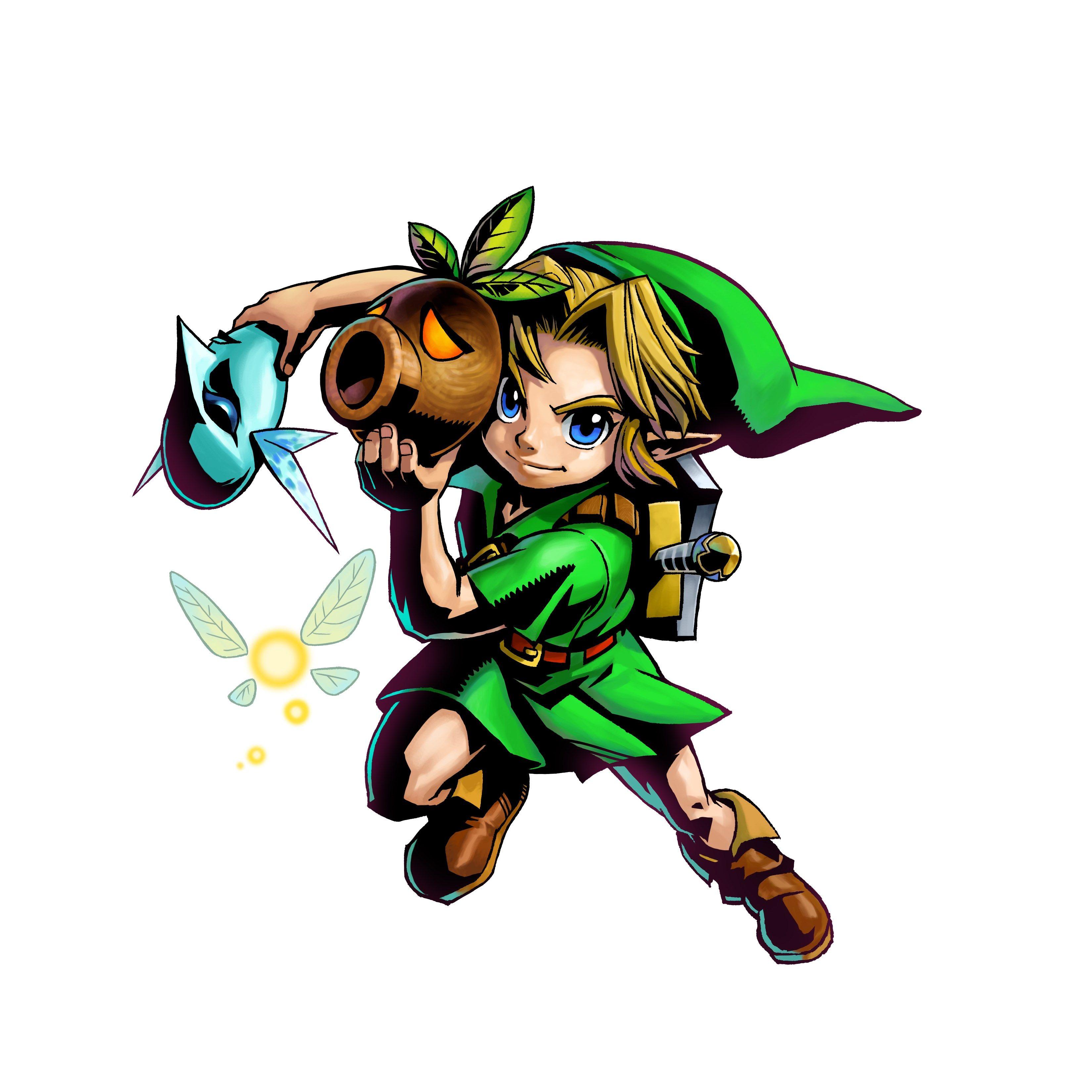 The Legend Of Zelda Majora S Mask 3d Artwork Released Majoras