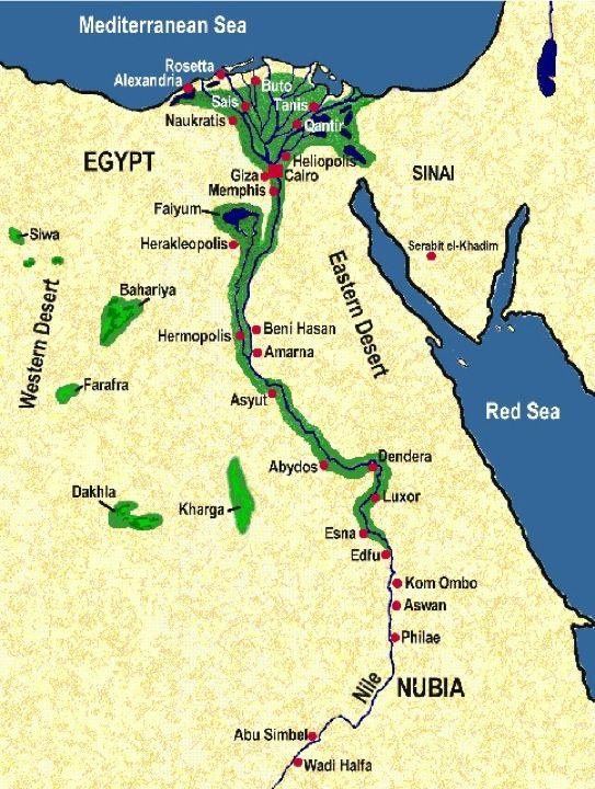 Nile River Map Nile River Valley Map Egypt Pinterest Egypt
