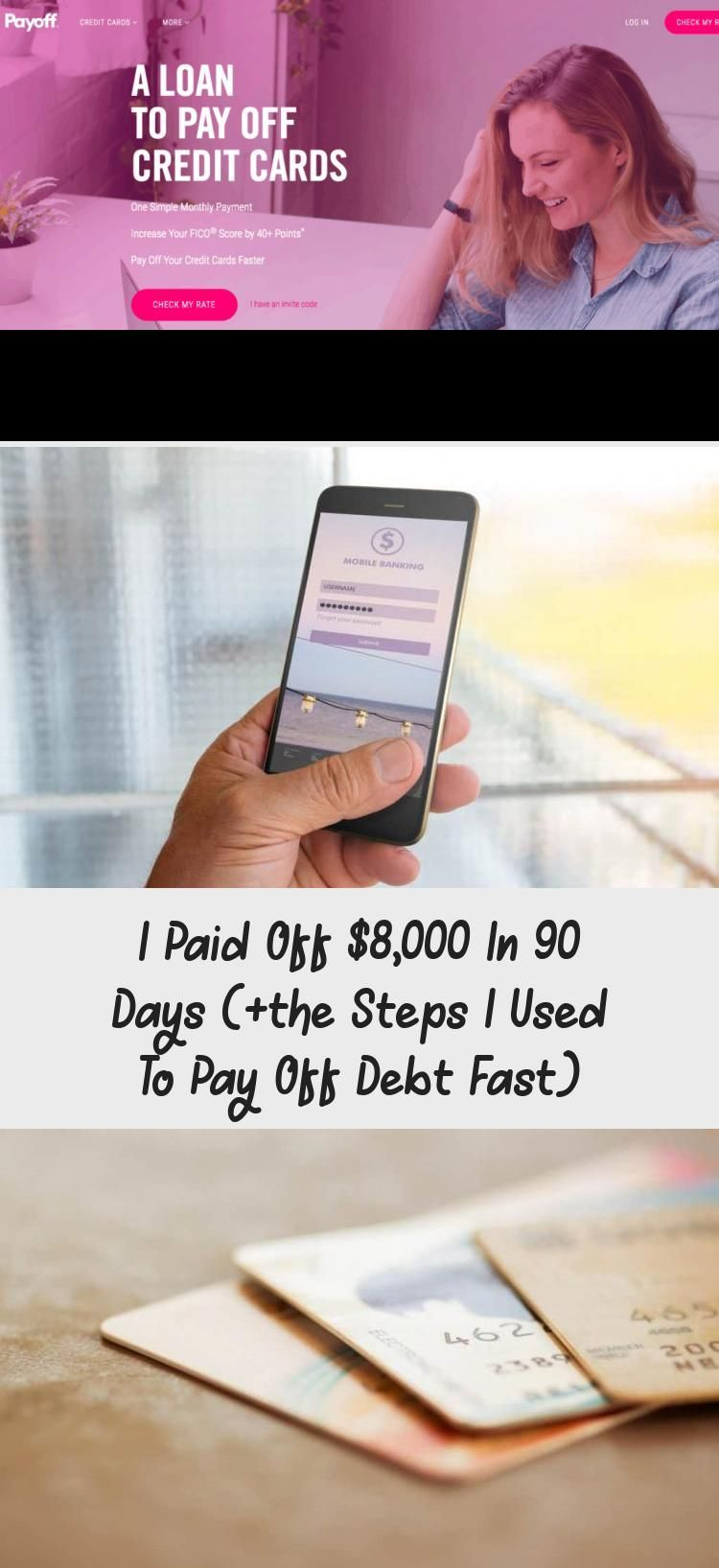 I Paid Off 8000 In 90 Days The Steps I Used To Pay Off Debt Fast Credit Score Credit Card Interest Paying Off Credit Cards Credit Card Credit Cards Debt
